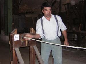 la fabrication de la corde 1