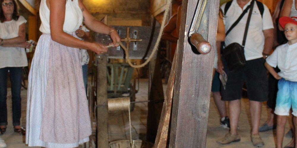 les artisans au travail